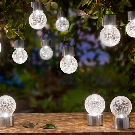 Crackle Solar Garden Lights Buy Crackle Balls 3 Year Product Guarantee