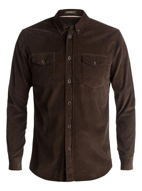 Corduroy Sleeve Shirt waterman bells point corduroy sleeve shirt eqmwt03032