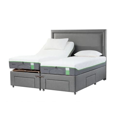 tempur moulton king size adjustable electric bed at smiths the rink
