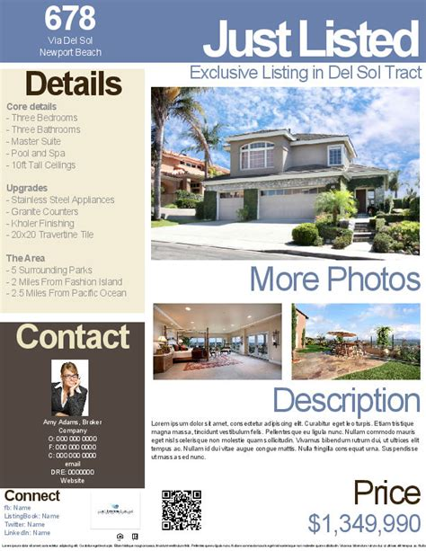 realtor flyer template real estate flyers real estate flyer templates real