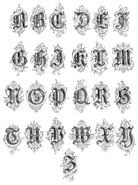 tattoo letters website 25 best ideas about victorian fonts on pinterest types