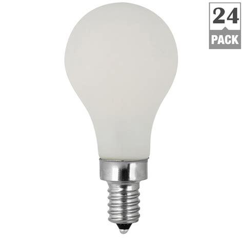 led candelabra light bulbs feit electric 60w equivalent soft white 2700k a15