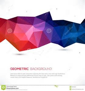 abstract 3d geometric colorful background stock images