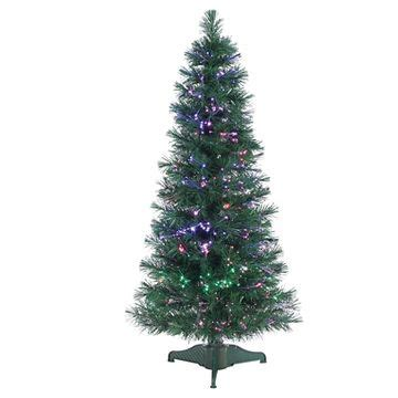 fiber optic christmas trees target