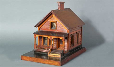 house gov wooden house model just folk