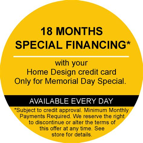 home design credit card 28 images ge capital home