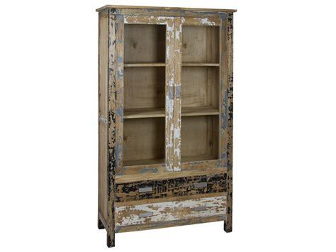 alacena tipo industrial alacena industrial vintage de madera decapada 2 puertas 2