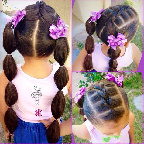 best 25 rubber band hairstyles ideas on pinterest kids girls hair styles best 25 girl hairstyles ideas on