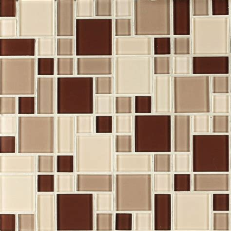 peel and stick mosaic tile backsplash with nice natural instant glass peel and stick mosaic taupe tile
