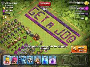 Funny clash of clans bases