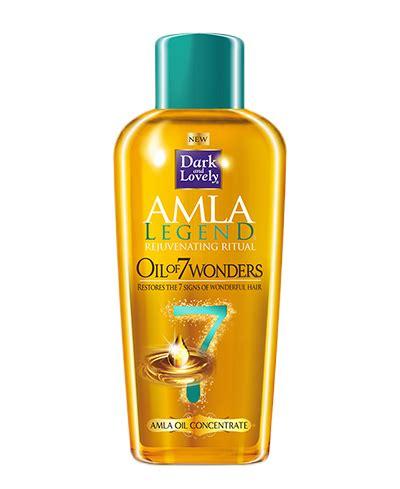 amla ledgen amla legend oil of 7 wonders for dry black hair dark