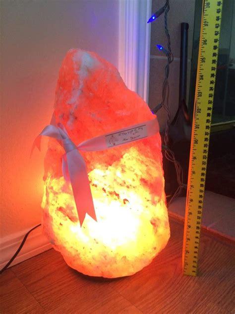 Pink Himalayan Salt Lamps by Large Himalayan Salt Lamp Pure Pink Salt