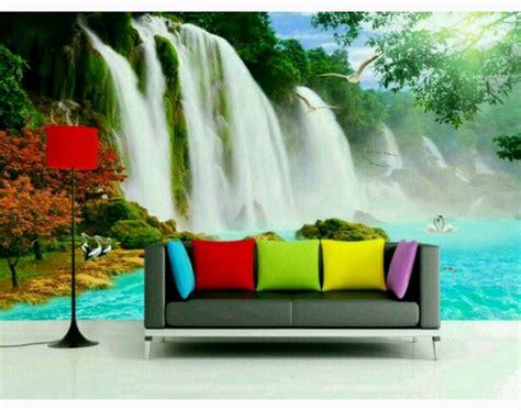 Wallpaper Alam 3d | jual wallpaper dinding pemandangan alam 3d sanggar