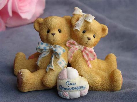 """Cherished Teddies """"You Grow More Dear With Each Passing"""