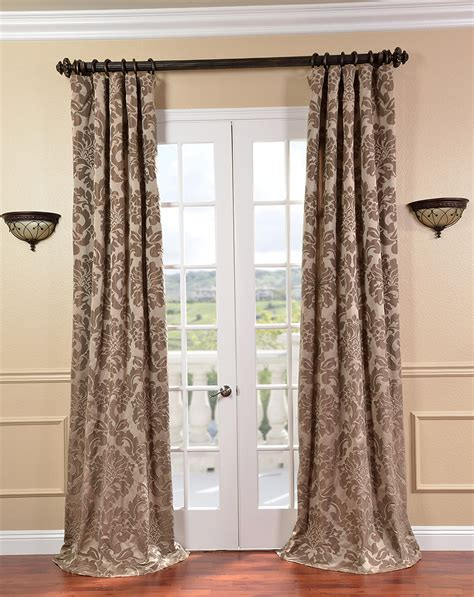 Brown And White Curtains Chocolate Brown And White Curtains Home Design Ideas