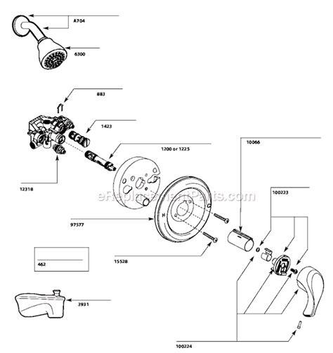 moen  parts list  diagram classic bathtubs  sale