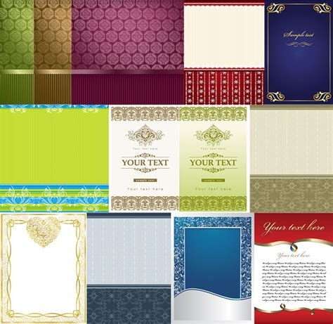 free download borderlayout lace border pattern layout design download free vector psd