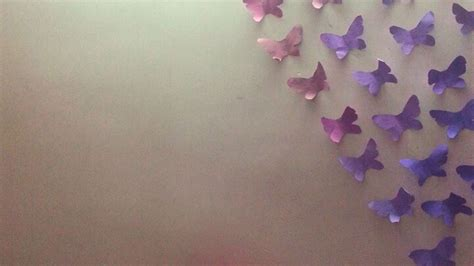 how to make wall decoration at home how to make fantastic butterflies wall decor diy home