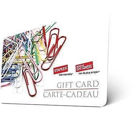 Is There A Ebay Gift Card - ebay ca 25 staples gift card for 20 canadian freebies coupons deals bargains