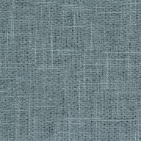 Steel Blue Linen Upholstery Fabric Blue Grey Solid Curtain