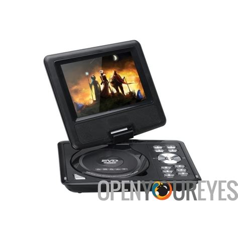 tv portable 7 inch radio fm dvd 7 inch portable dvd player wide screen tft color
