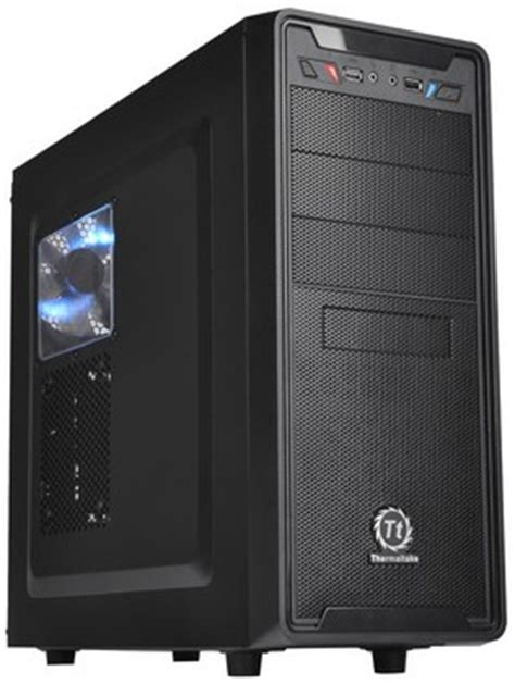 Thermaltake Versa G2 Casing thermaltake gelontorkan dua casis gaming entry level baru