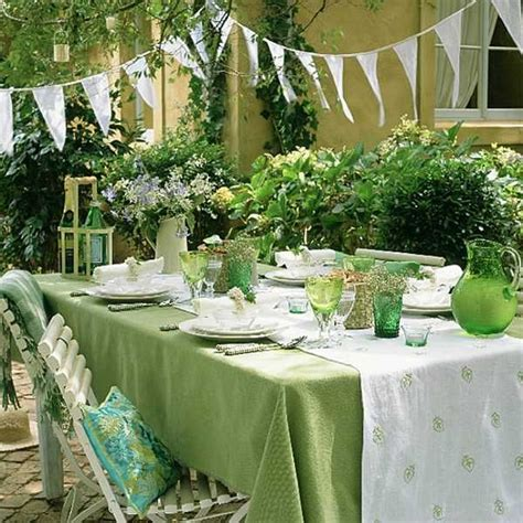 green table decorations how to organize labor day 15 summer