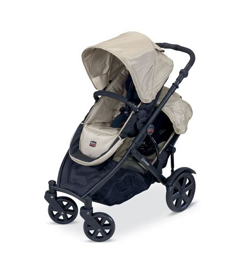 stroller that works with britax car seat britax b ready stroller and 2nd seat in twilight 2011