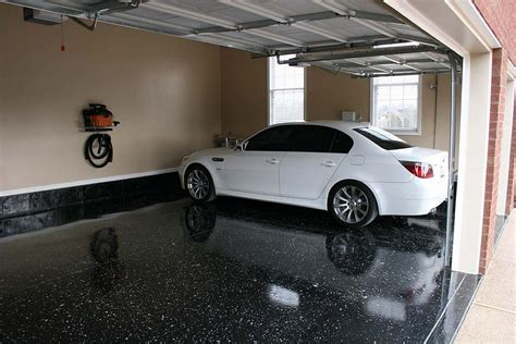 Garage Floor Epoxy Black by Epoxy Flooring Smarter Flooring Sydney