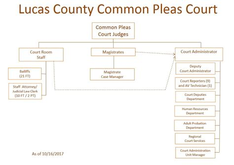 layout of a court report lucas county common pleas court lucas county oh