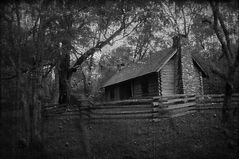 Haunted Cabins by Quot Haunted Cabin Creepy Quot By Emily Heatherly Redbubble