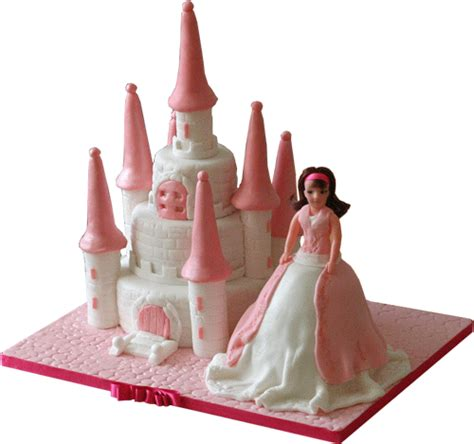 Cake Decorating by Barbie Castle Amp Doll Birthday Cake Kimboscakes 3d Cakes