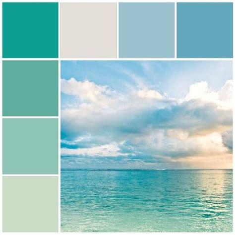 themes color of water aqua blue coastal color scheme beach color palette