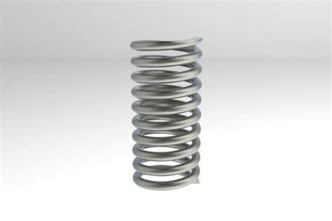 3d spring models coil spring working
