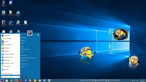 imagenes temas windows 10 tema windows 10 rtm para windows 8 y 8 1 descargar gratis