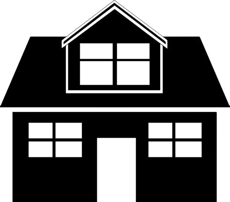 house icon clipart house icon