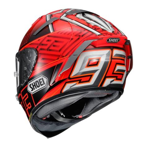 Helm Shoei X Spirit shoei x spirit iii x 14 marquez 4 helmet chion helmets