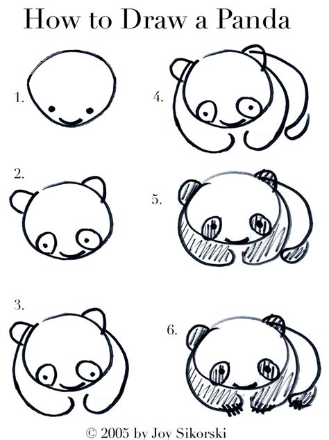 how to doodle animals a wink a gun semi useless talent how to draw a panda