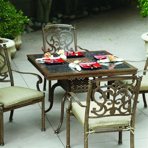 Tiled Patio Table Dining Table Patio Dining Table Tile Top