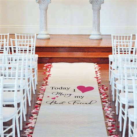 Wedding Aisle Runner Cheap by Discover And Save Creative Ideas