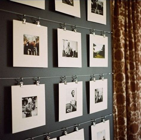 wire photo display mats wire clips art display walls pinterest