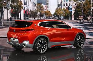 Bmw X2 Bmw X2 Concept Debuts In Automobile Magazine
