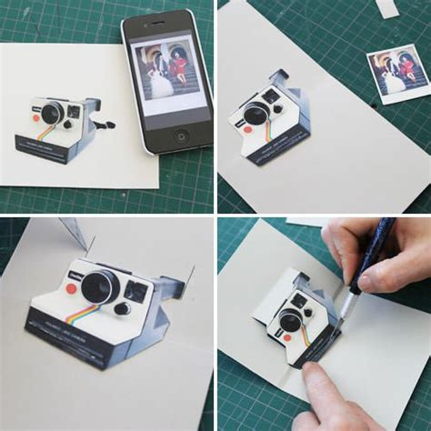 Polaroid Pop Up Card Template by How To Make A Diy Polaroid Pop Up Card Newschoolers