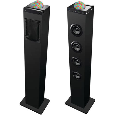 sylvania disco ball tower bluetooth from the spinster s shoppe