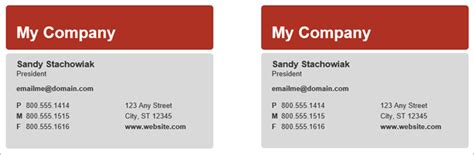 How To Make Free Business Cards In Microsoft Word With Templates Microsoft Word Business Card Templates