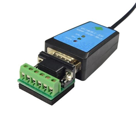 Best Seller Usb2 0 To Serial Rs422 Rs485 Adapter Converter Kabel Ftdi usb 2 0 to rs422 rs485 converter adapter serial cable ftdi chipset line length 1 8m magnetic ring