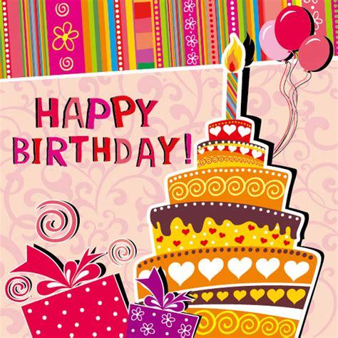 imagenes happy birthday funny funny cartoon happy birthday cards vector 03 vector