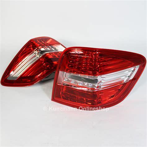 cdi lights led taillights mercedes ml class w164