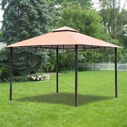 backyard creations gazebo replacement canopy for bc metal gazebo garden winds