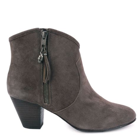 ash jess topo suede ankle boots ash from ash footwear uk